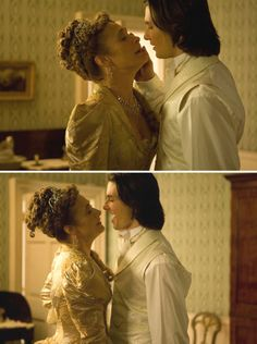Dorian Gray (2009) Starring: Caroline Goodall as Lady Radley and Ben Barnes as Dorian Gray. (click thru for larger image)