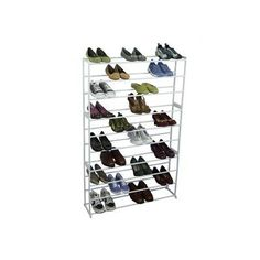 walk-in closet, need 2    50 Pair Shoe Tower Storage Rack by Richards Homewares, http://www.amazon.com/dp/B003X372HK/ref=cm_sw_r_pi_dp_tz65qb07QTYYM