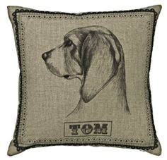Beagle £43.25 inc. UK postage. For full details please see website www.cushionsbydesign.co.uk