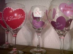 1000 Images About Wine Glasses On Pinterest Hand