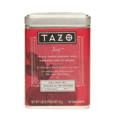 Tazo Joy Tea- New favorite, but it's limited time only!