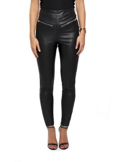 Leading online upscale fashion boutique in London for women's outerwear. Selecting designers such as Canada Goose, Mackage, Rino & Pelle and Ventcouvert, Fur & Leather coats and much more. Leggings Style, Leggings Fashion, Black Leggings, Religion Clothing, Outerwear Women, Boyfriend Jeans, Fashion Boutique, Jet, Leather Pants