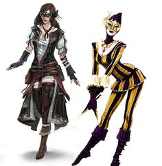 assassin creed female pirate images | Assassins Creed Brotherhood Multiplayer