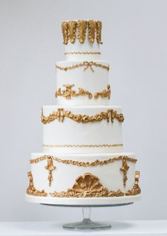 gold and ivory baroque