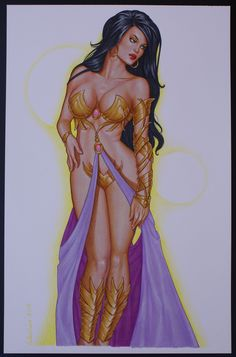 Dejah Thoris by Valentina Comic Art