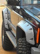 Jeep Cherokee XJ - Heavy Duty Fender Flares that are far more cost effective than bushwacker Jeep Xj Mods, Jeep Cherokee Xj, Fender Flares, Jeep Stuff, Jeep Truck, G Wagon, Mj, Offroad, Gears