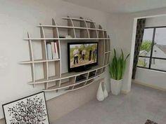 Shelving for flat screen tv