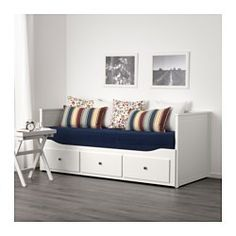 IKEA - HEMNES, Daybed frame with 3 drawers, , Four functions - sofa, single bed, double bed and storage solution.