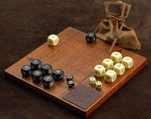 Canoa de madera dura Juegos de mesa