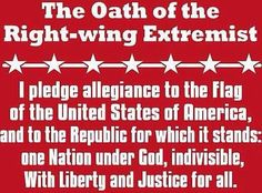 I don't know about them right wing extremist