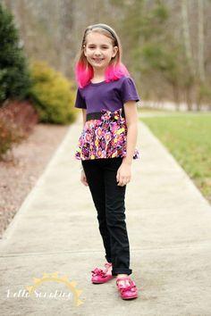 Maci Twirly Dress & Top PDF Sewing Pattern by BellaSunshineDesigns