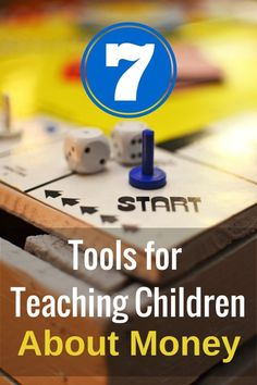 As parents we have a huge influence on our children. We can harness that influence to teach our children how to manage money wisely. Here are 7 helpful tools for teaching children about money.