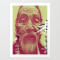 Tanaka San  Art Print by ganech - $14.56