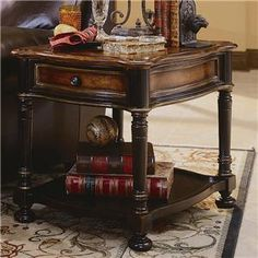 Two tone end table available at Blu Ivory Home Décor. 832-559-7029