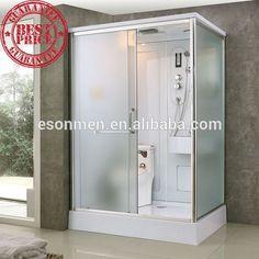 Prefabricated Bathroom, One piece bathroom,Toilet shower cabin Portable Bathroom, Compact Bathroom, Bathroom Toilets, Small Toilet, New Toilet, Tiny Bathrooms, Small Bathroom, Glass Bathroom, Shower Pods