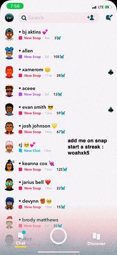 add me too start a streakkk 😝 . Snapchat Names List, Snapchat Best Friends, Snapchat Friend Emojis, Snap Snapchat, Snapchat Streak, Snap Friends, Aesthetic Names, Snap Streak, Xmax