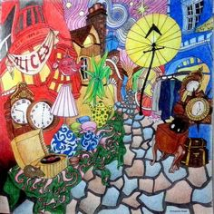 #themagicalcity #themagicalcitycolouringbook #lizziemarycullen