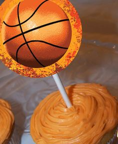 March Madness Cupcake Toppers Printable by NspireDesign on Etsy, $1.00