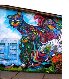 street art cats {on my house, please!}
