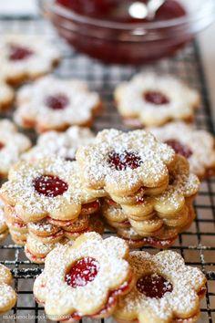 Easy Cookie Recipes, Sweet Recipes, Baking Recipes, Dessert Recipes, Cake Recipes, German Christmas Cookies, Christmas Sweets, German Baking, No Bake Treats