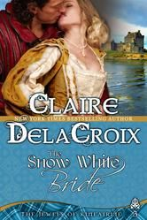 99-Cent Bargain Book: Historical romance THE SNOW WHITE BRIDE by Claire Delacroix, from her Jewels of Kinfairlie series. This medieval Scottish romance is set at Christmas. After Alexander arranges marriages for his two oldest sisters, Madeline and Vivienne decide to even the score by finding Alexander the perfect bride—never guessing that Alexander is the one man who can win Eleanor's heart. Regularly $4.99, just 99 cents today (11/22/13) for Kindle,Nook, iBooks and Kobo!