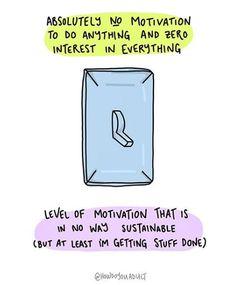 motivation on off. Do Anything, Adhd, At Least, Bra, Motivation, Beauty, Velvet, Brassiere, Beleza