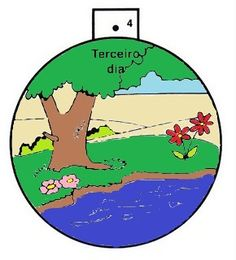 Recorte os círculos. Junte os círculos na sequência e introduza um grampo (tipo bailarina) pelos furinhos. Abra as garras do grampo, uma pa...