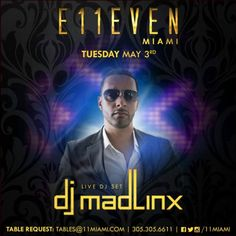 Whenever I'm at @11Miami amazing things always go down come see what I'm talking about tonite!  #Downtown #Miami #Party #Club #NightClub #Models #Bottles #Music #Drinks #Dancers #Sexy  #HipHop #EDM #House #Trap #Moombahton & a whole lot of #Drake #Views #Beyonce & #Lemonade