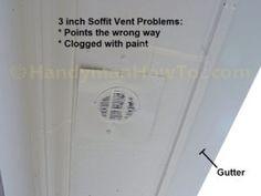 Bath Exhaust Fan Soffit Vent