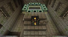 Minecraft PE Stronghold Seed including: Village, Stronghold, End Portal, Several Chests, Gold Under Spawn! Minecraft Pe Seeds, Pocket Edition