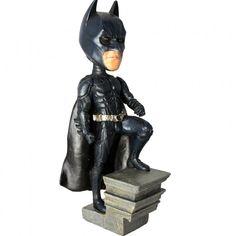 Official DC Batman Dark Knight Rises Bobblehead Head Knocker Bobblehead Neca Toy
