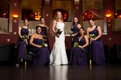 Best of Caprisio Weddings - The Society Room bridal party.