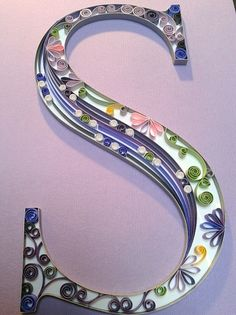 quilled letter