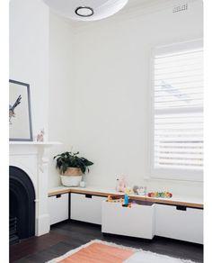3 Interested Tips AND Tricks: Minimalist Interior Black Work Spaces minimalist bedroom zen spaces.Minimalist Home Decoration Small Spaces minimalist bedroom lighting all white.Minimalist Living Room With Kids Simple. Minimalist Kids, Minimalist Bedroom, Minimalist Decor, Minimalist Kitchen, Minimalist Interior, Minimalist Living, Kids Storage, Storage Ideas, Storage Design