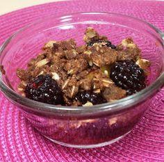Emily Bites - Weight Watchers Friendly Recipes: Blackberry Peach Crisps