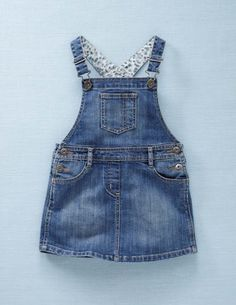 Dungaree Dress - mini Boden - $44.00