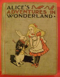 1899 Alice's Adventures In Wonderland Gilbert McKibbin - Shop Ruby Lane #RubyLane