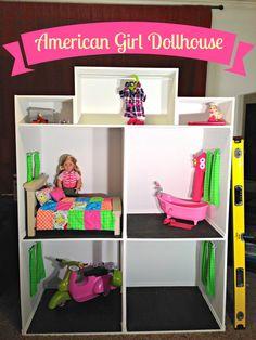 American Girl Dollhouse Tutorial