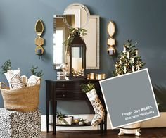 Catalog Paint Colors: Holiday 2012 from Ballard Designs  I  howtodecorate.com