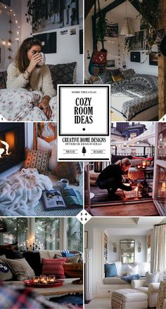 How To Make a Room Cozy: Cozy home decor ideas for a bedroom, living room, or apartment