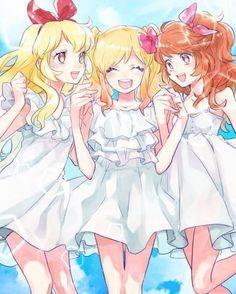 Ichigo,Akari and Yume