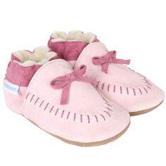 Robeez - Robeez Cozy Moccasin Soft Soles, Pink, C$27.00 (http://www.myrobeez.ca/robeez-cozy-moccasin-soft-soles-pink/)