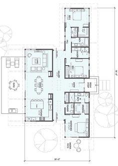 SD154-floor plan 2,185 square feet 1 Story 3 Bedroom 2.5 Bathroom