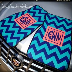 Car Mats Monogrammed / Personalized Car Mats · Sassy Southern Gals Boutique · Online Store Powered by Storenvy