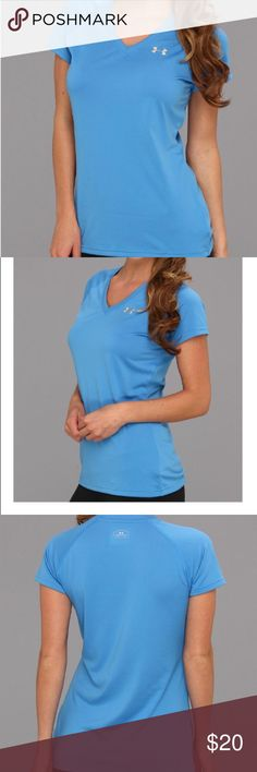 Under Armour Tech Tee Women's Under Armour Tech Tee in Turquoise Blue. Under Armour Tops Tees - Short Sleeve