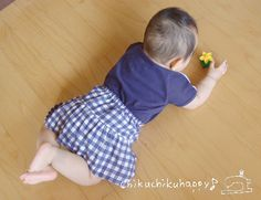 Very Easy Baby Skirt pattern (straight lines)