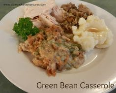 A Busy Mom's Slow Cooker Adventures: Green Bean Casserole