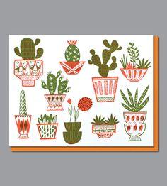Cacti Card - Paper Parasol Press