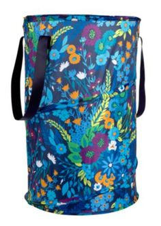 Pop Up Laundry Bag Vera Bradley Clearance Quilted Midnight Blue