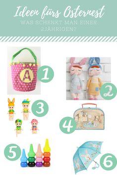 Ideen fürs Osternest | Ostergeschenke für (m)eine 2jährige | Easter